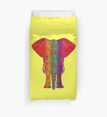 Rainbow Ganesha (Yellow)  Duvet Cover
