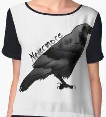 The Raven by Edgar Allan Poe Women's Chiffon Top