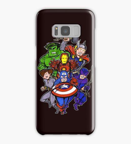 Mighty Heroes Samsung Galaxy Case/Skin