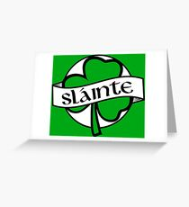 Slainte greeting cards redbubble slainte greeting card m4hsunfo