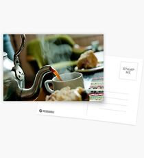 Retro Coffee Pot Postcards