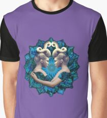 Gemini mandala Graphic T-Shirt
