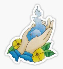 Howl's moving castle Calcifer drawing  Sticker