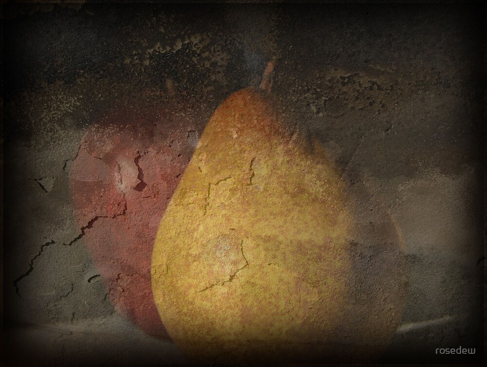 Pear and Apple by ROSE DEWHURST