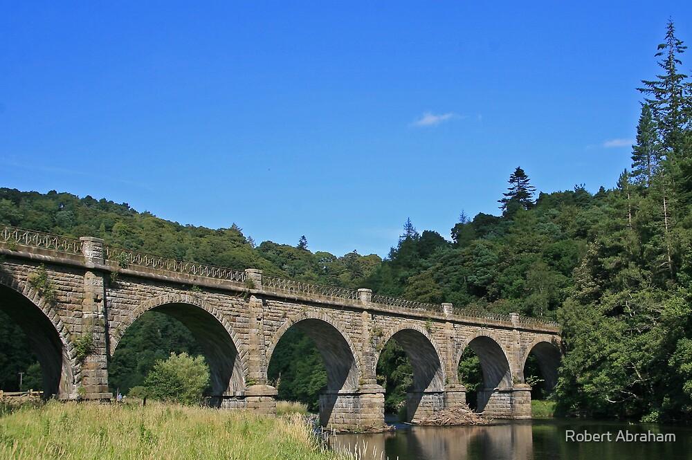 Disused Rail Bridge by Robert Abraham