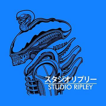 Studio Ripley - Alien Ghibli Parody by pigboom