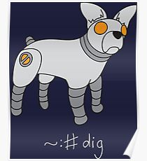 Angrybot: Prompt Dog Poster