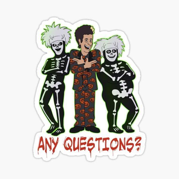 I'm David Pumpkins Sticker