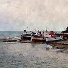 The small harbour of Sampieri, Sicily by Andrea Rapisarda
