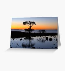 Cleveland Point Sunset Greeting Card