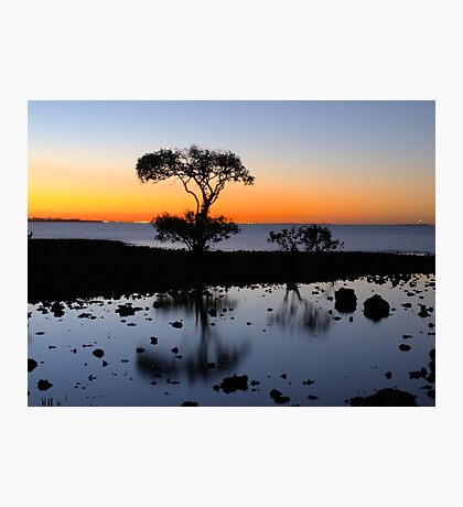 Cleveland Point Sunset Photographic Print