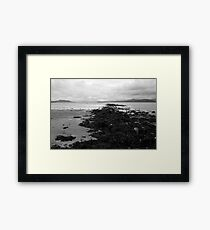 Light in the Distance Framed Print