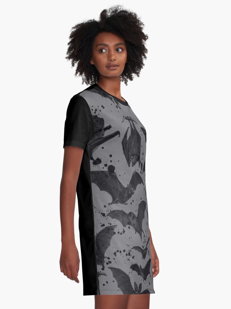 Alternate view of BATS Graphic T-Shirt Dress