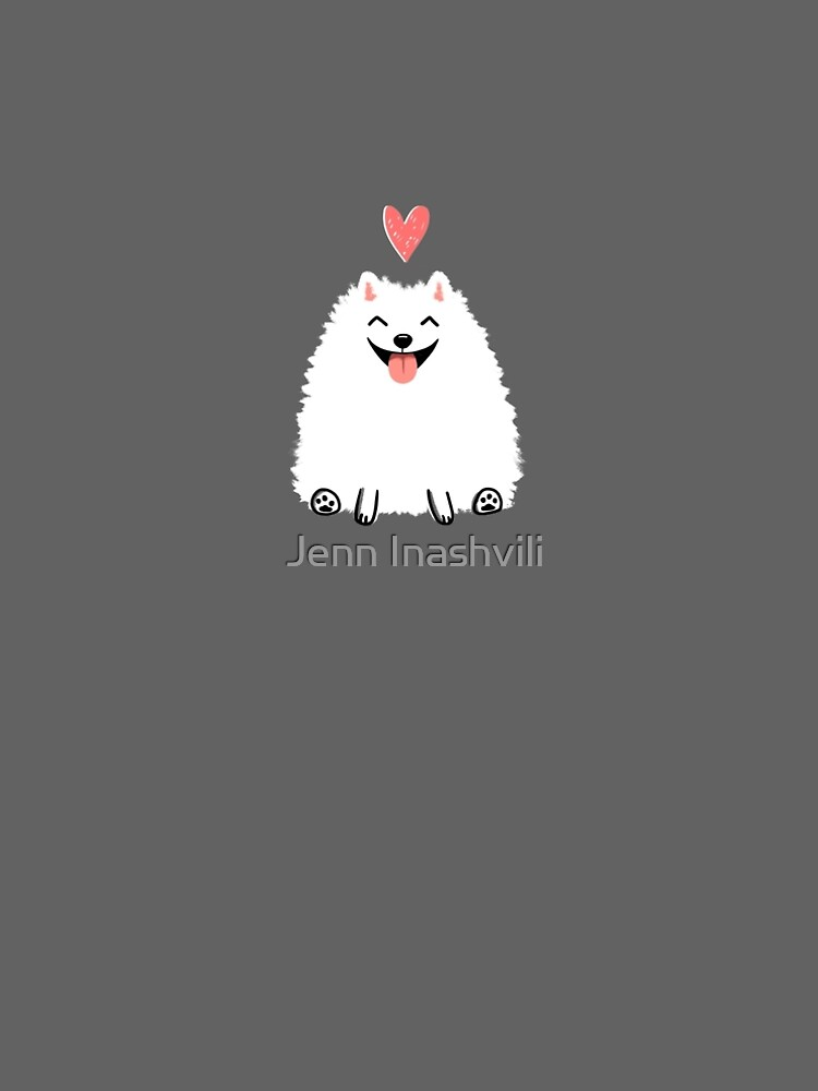Pomeranian Valentine by ShortCoffee