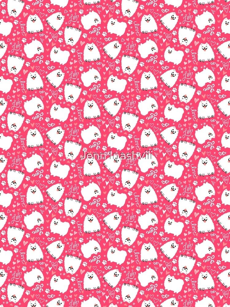 Pomeranian Valentine by ShortCoffee