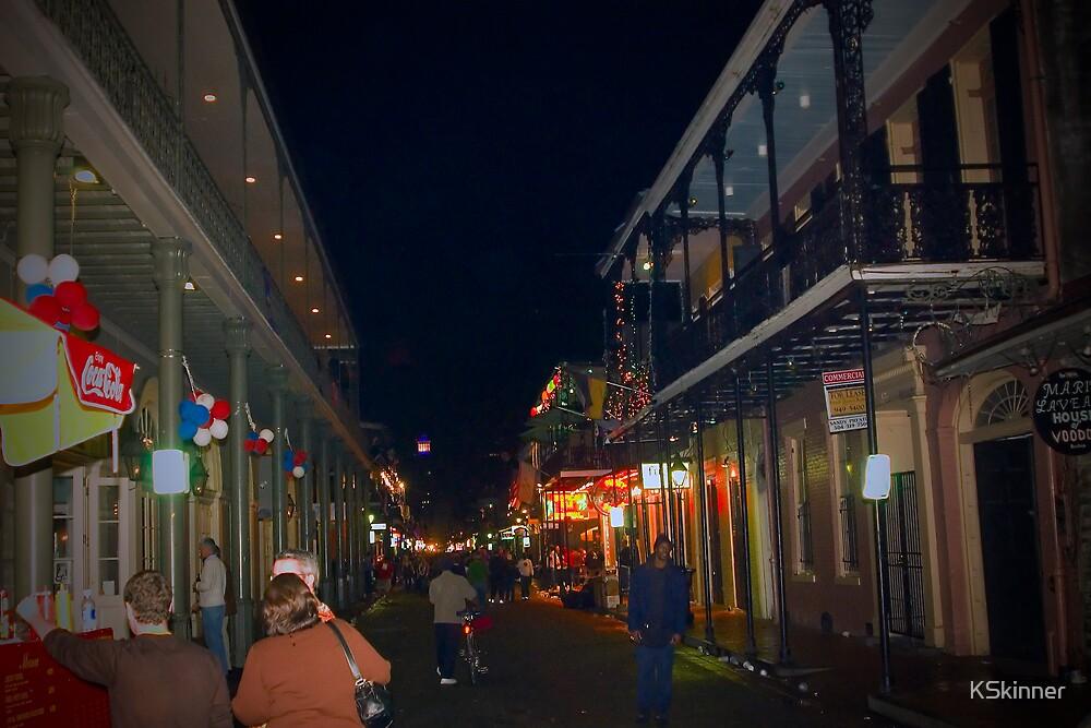 Winding Down Bourbon Street by KSkinner