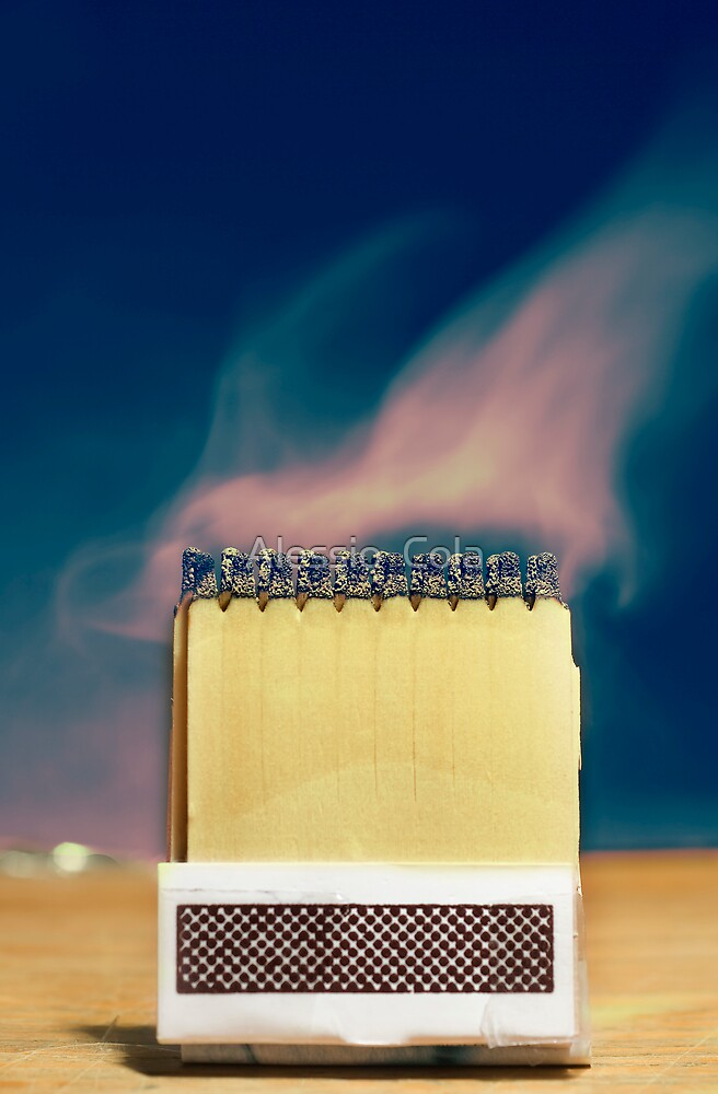 Matches and Smoke by Alessio  Cola