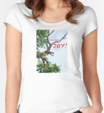 BOUNDLESS JOY Women's Fitted Scoop T-Shirt