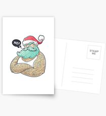 Hipsta Claus Postcards