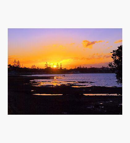 Wynnum Sunset Photographic Print