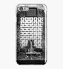 1825 Spring Water Fountain iPhone Case/Skin