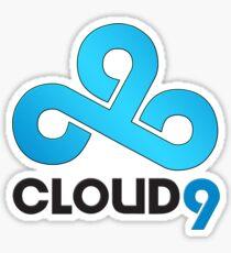 Cloud 9 - Sleek Gloss Sticker