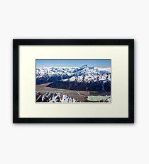 Lake Tasman Framed Print