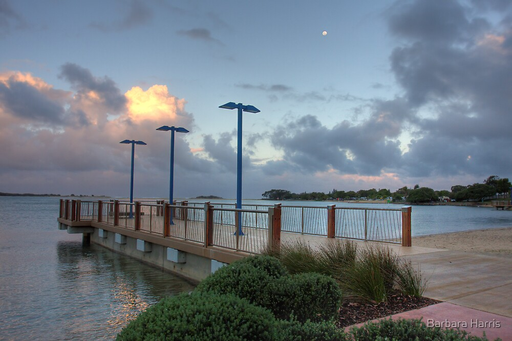 Cotton Tree Jetty-HDR (5870) by Barbara Harris