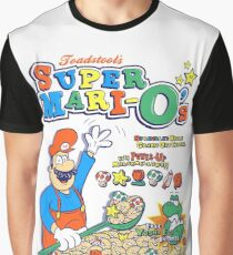 Super Mari-O's - Breakfast of Superstars!! Graphic T-Shirt