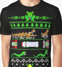 Christmas Frogger Graphic T-Shirt