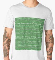 Stranger things Christmas Men's Premium T-Shirt
