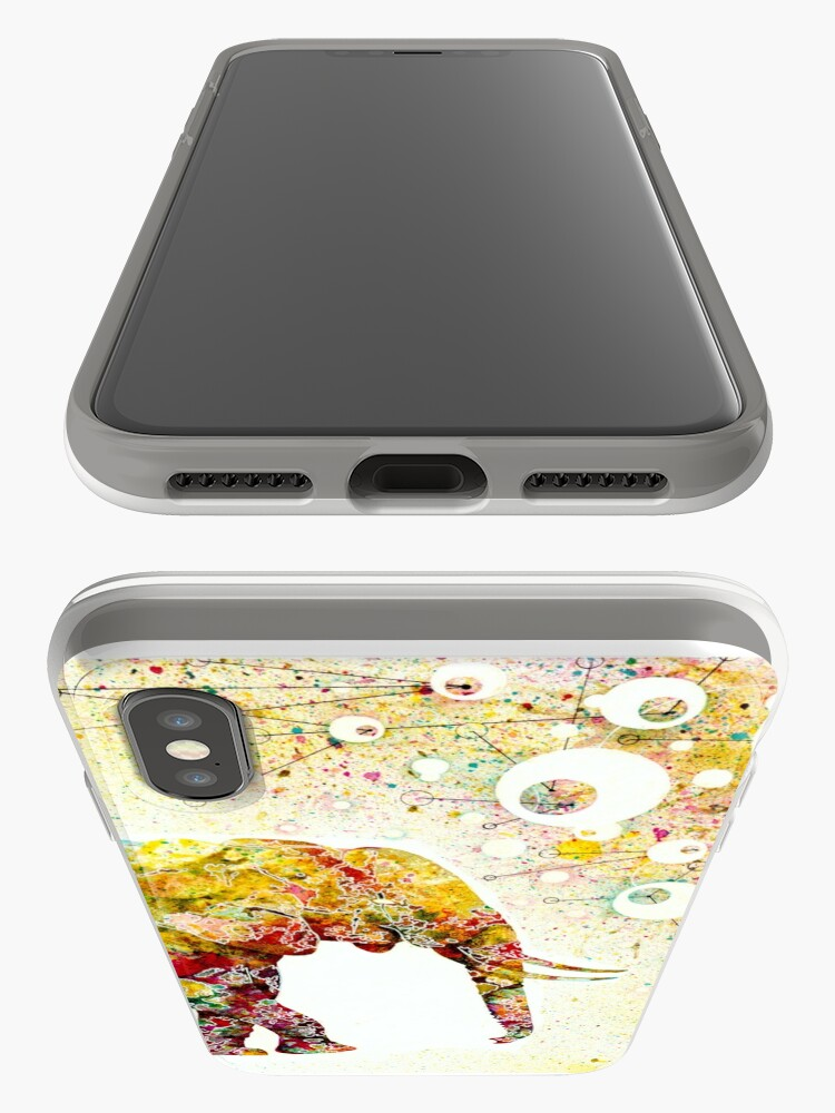 """Alternative Ansicht von """"Forever Young"""" Elephant Mutter und Baby iPhone-Hülle & Cover"""