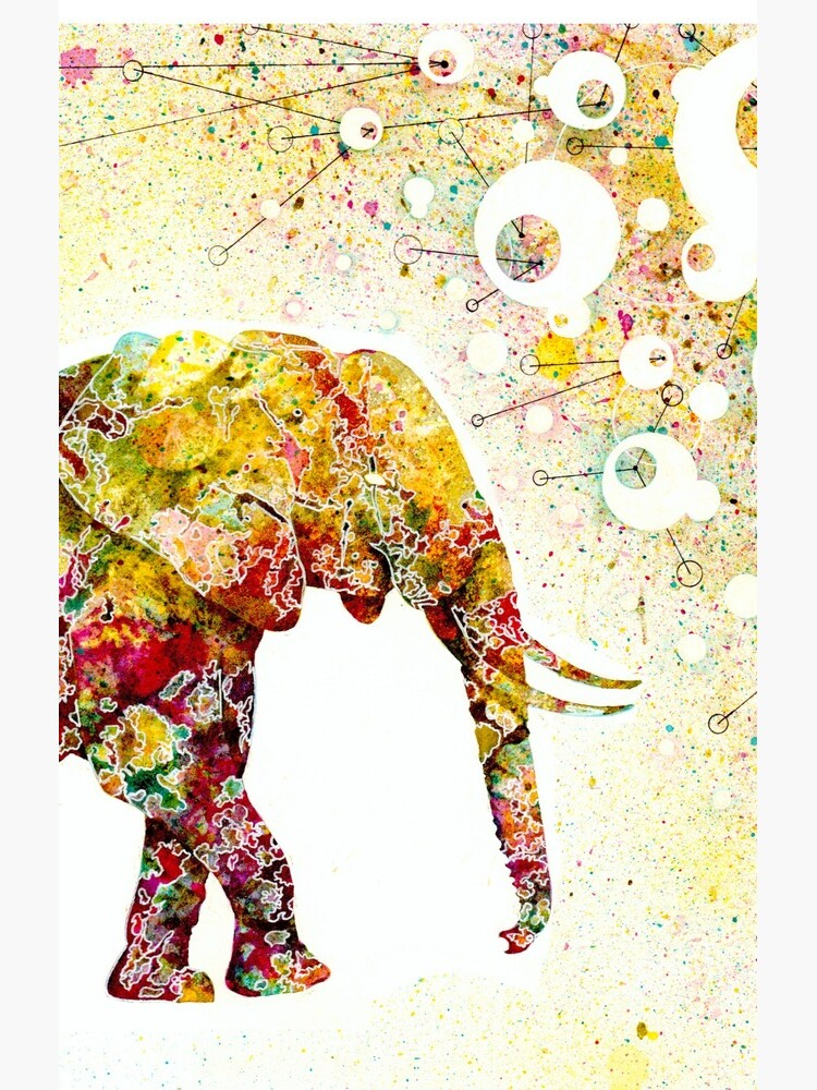 """""""Forever Young"""" Elephant Mutter und Baby von ElisetteArt"""