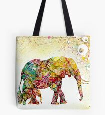 """Forever Young"" Elephant Mother & Baby Tote Bag"