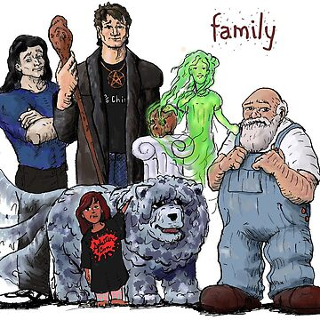 Dresden Files Family Portrait by sketchydude