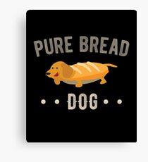 Pure Bread Purebred Dog  Canvas Print