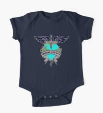 Body de manga corta para bebé Bon Jovi