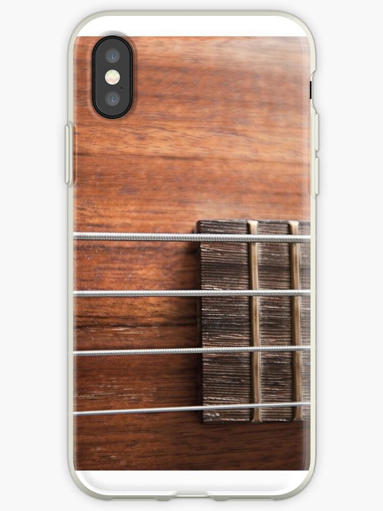 Bass guitar iphone case by Gillian Cross