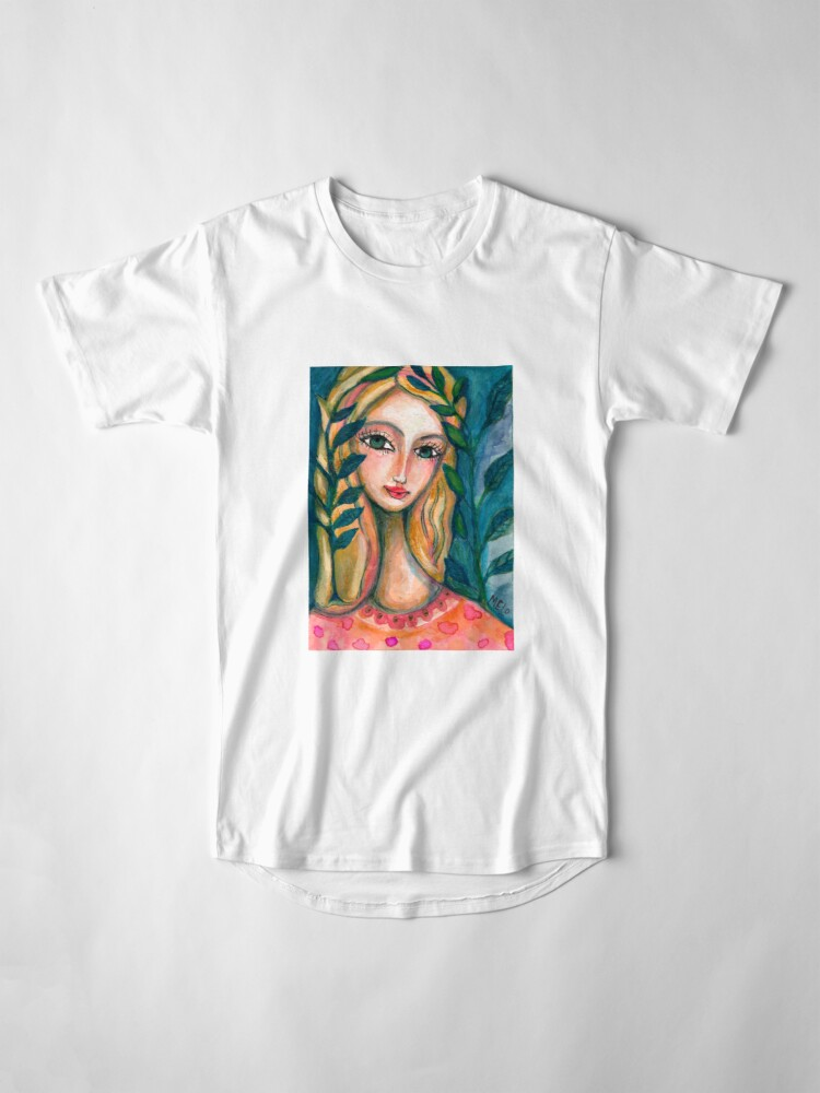 Alternate view of Nature Girl Long T-Shirt