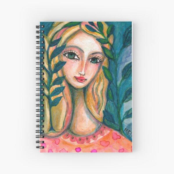 Nature Girl Spiral Notebook