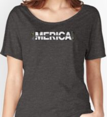 Merica Graphic OX811 New Product Women's Relaxed Fit T-Shirt