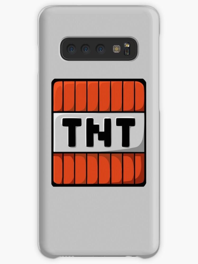 'TNT Minecraft' Case/Skin for Samsung Galaxy by lekongkadal