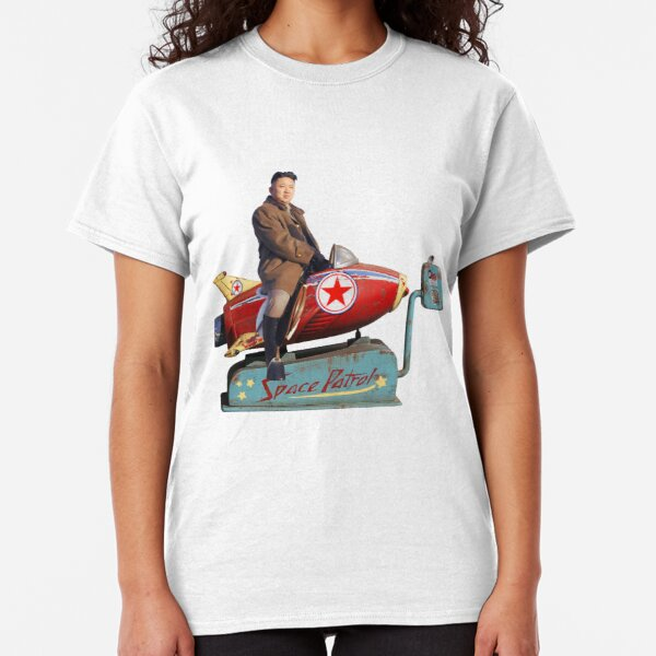 Kim Jong-Un Rocketman Classic T-Shirt
