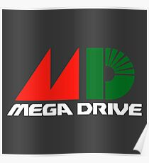 Sega Mega Drive Poster