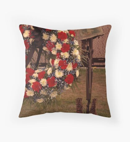 Never to be Forgotten Throw Pillow