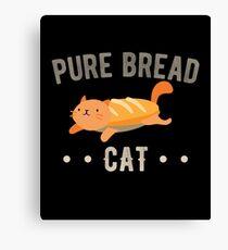 Pure Bread Purebred Cat  Canvas Print