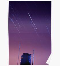 Startrails I Poster