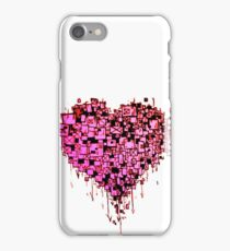 Graffiti Heart Red iPhone Case/Skin