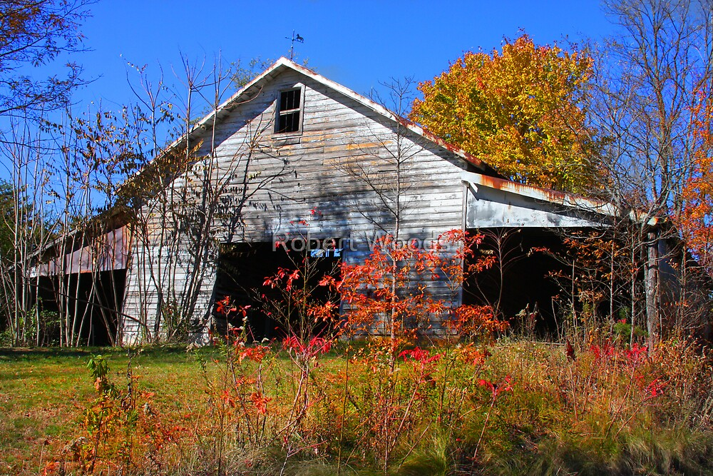 Country Barn by Robert Woods