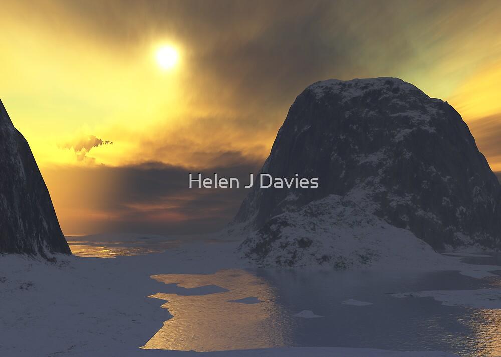 Winter Sunlight by Helen J Davies